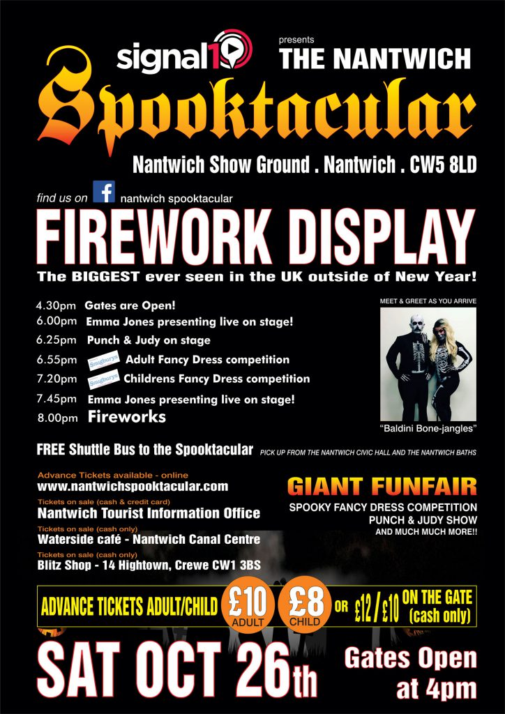 Nantwich Spooktacular - NW's largest Firework Display